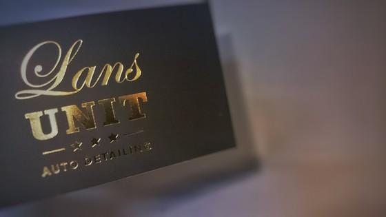 wizytówki złocone